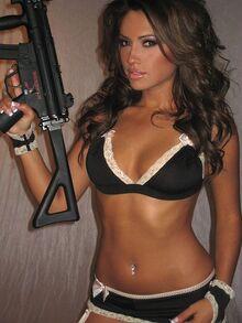 Jessica burciaga hot girl gun