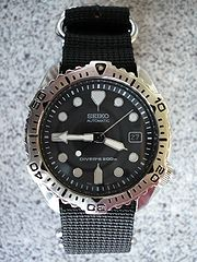 180px-Seiko 7002-7020 Diver27s 200 m on a 4-ring NATO style strap
