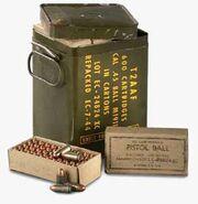 Ammo 45acp case box 375