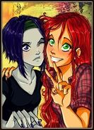 Raven i gwiazdka- przyjaciółki972t5