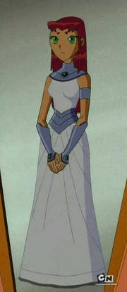 Gwiazdka w sukni ślubnej