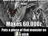 Images humoristiques de Monster Hunter