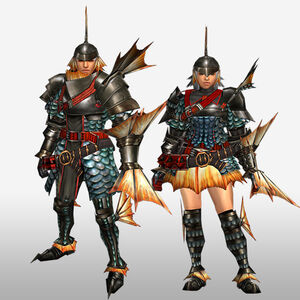 FrontierGen-Gareosu G Armor (Gunner) (Front) Render