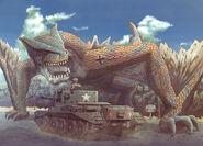 Tigrex VS Tank