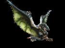 MH4-Azure Rathalos Render 001