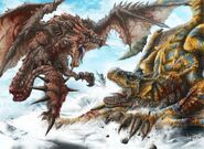 Rathalos VS Tigrex