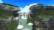 FrontierGen-Painted Waterfalls Screenshot 001