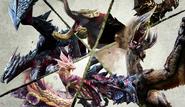 MHXX-Flagship Monsters Artwork