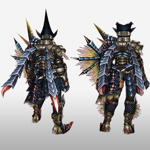 FrontierGen-Beru Armor (Gunner) (Back) Render