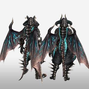 FrontierGen-Dragon G Armor (Blademaster) (Back) Render