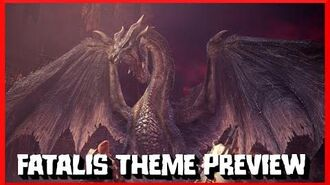 MHW Iceborne - Fatalis Theme PS4 Preview