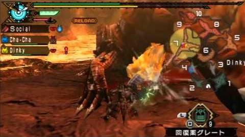 Monster Hunter Portable 3rd - Switch Axe (Agnaktor)