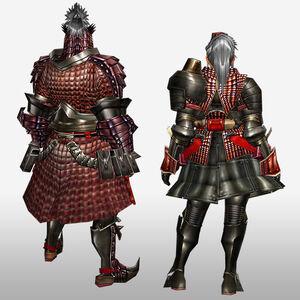 FrontierGen-Iosu G Armor (Blademaster) (Back) Render