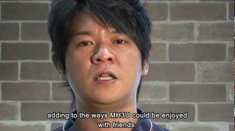 Monster Hunter 3 Ultimate - Announcement message from Producer Ryozo Tsujimoto