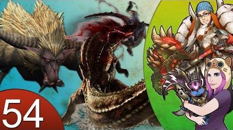 Monster Hunter 4 Nubcakes 54 - Deviljho & Rajang (custom hammer set 3) English commentary online