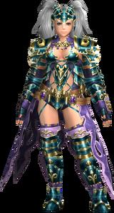 FrontierGen-Amista Armor (Female) (Both) (Front) Render 003