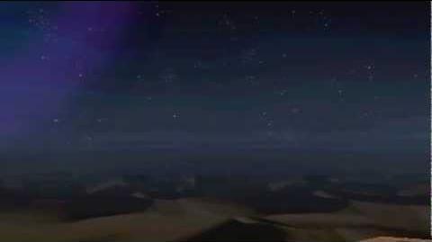 """Monster Hunter Freedom Unite -- """"White Night Dune"""" (Desert - Night)"""