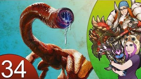 Monster Hunter 4 Nubcakes 34 - Red Khezu English commentary online gameplay