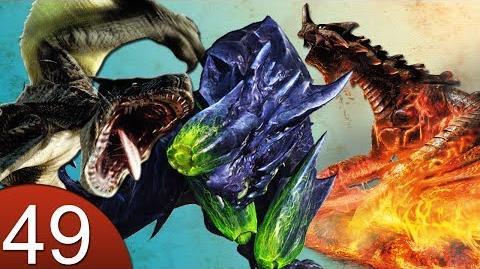 Monster Hunter 4 Nubcakes 49 - Black Gravios, Brute Tigrex, Brachydios English commentary