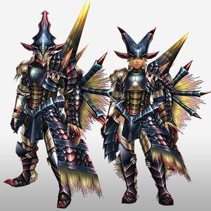 FrontierGen-Beru G Armor (Gunner) (Front) Render