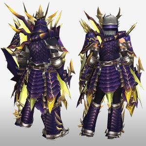 FrontierGen-Rebi G Armor (Gunner) (Back) Render