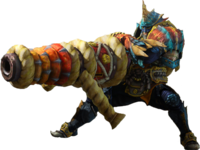 Monster Hunter 4 Heavy Bowgun Render