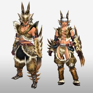 FrontierGen-Hejji G Armor (Gunner) (Front) Render