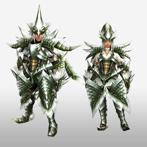 FrontierGen-Emitto Armor (Blademaster) (Front) Render