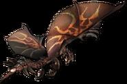 MHGen-Dreadking Rathalos Render 001