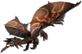 MHGen-Dreadking Rathalos Render 001