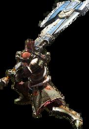 Monster Hunter 4 Switch Axe Render