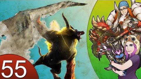 Monster Hunter 4 Nubcakes 55 - Golden Rajang (custom Great Sword set) English commentary online-0