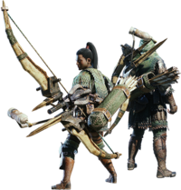 MHW-Bow Equipment Render 001