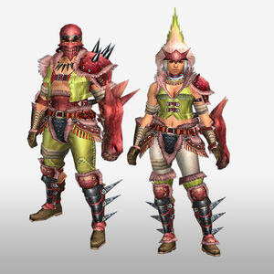 FrontierGen-Konga G Armor (Gunner) (Front) Render