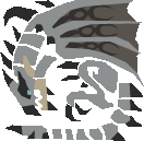 MH10th-Silver Rathalos Icon