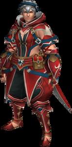 FrontierGen-Gania Armor (Male) (Both) (Front) Render 001