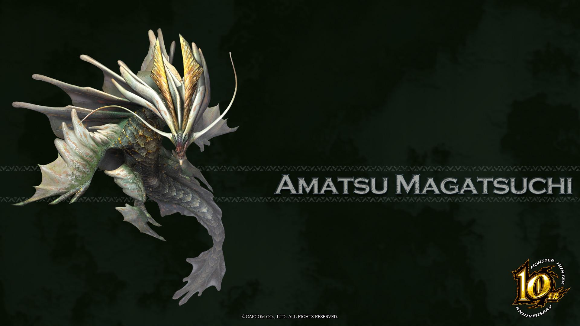 MH 10th Anniversary-Amatsumagatsuchi Wallpaper 001