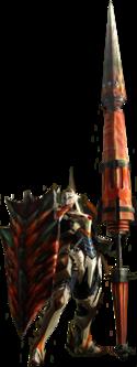 Monster Hunter 4 Gunlance Render