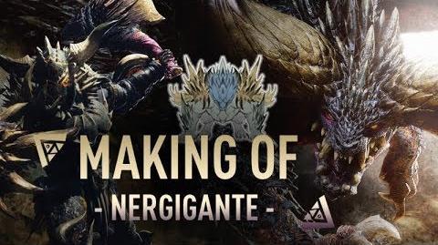 MH World - Making Of Nergigante