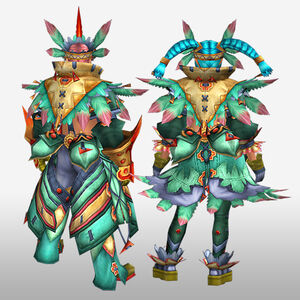 FrontierGen-Furanki G Armor (Blademaster) (Back) Render