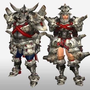 FrontierGen-Gurabido G Armor (Blademaster) (Front) Render