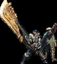 MHW-Great Sword Equipment Render 001