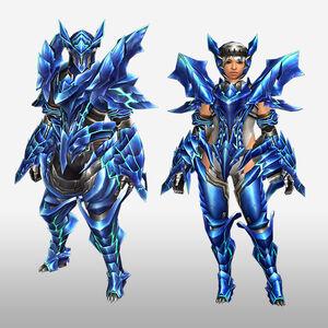 FrontierGen-Diore Armor (Blademaster) (Front) Render