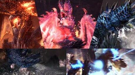 Alatreon's Elements MHW Iceborne