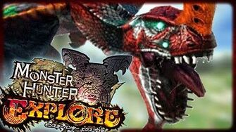 EVANGELION TIGREX!!! Monster Hunter Explore