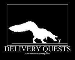 Delivery quest demotivational by themacronian-d4hrvs5