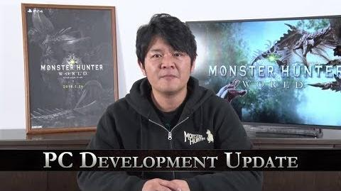 Monster Hunter World – PC Development Update