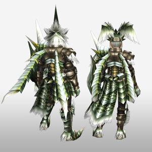 FrontierGen-Emitto Armor (Gunner) (Back) Render