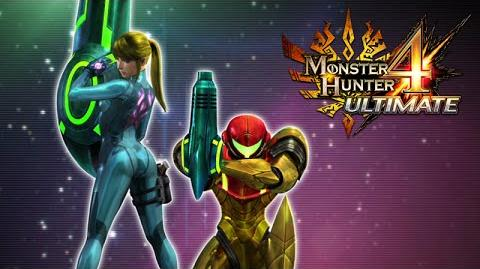 Monster Hunter 4 Ultimate - Metroid collaboration