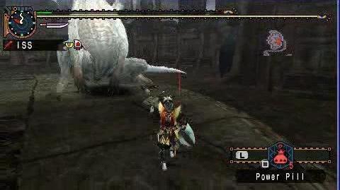 MHP2G Great Sword (Felyne Heroics) vs White Fatalis (download)